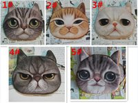 mini purses - 260pcs hot sale designs fashion D Printing coin purses wallet cat purse cute coin purse bag women wallets D433