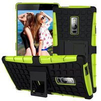 in one pc - Armor Case Heavy Duty Durable In Tpu Pc Robot Hard Cases knockprrof schockproof stand clip for one plus two dhl
