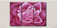 art oil painting techniques - hand oil painting techniques discount panel canvas art decorative pink flower canvas house modern decor