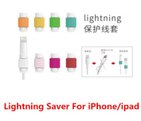 iphone 5 lightning cable - Lightning Cable Saver Protect for iPhone S C plus Charging Cable Protector Saver