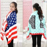 american hand dryers - 2015 New arrival Microfiber bath Towel Quick Drying American flag Towels Travel Sports Camping Swim Face hand Beach Towel HOT