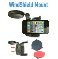 Wholesale Universal Windshield Dashboard Car Holder Mount for iPhone Mobile Phone Cellphone GPS PAD Accessories