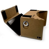 Wholesale Google Cardboard Virtual Reality DIY D Glasses D Moive for quot quot Smart Phone