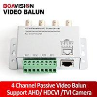 Precio de Balun pasivo de vídeo de 4 canales-UTP 4 canales Balun video pasivo de 4 canales CCTV BNC CAT5 Balun video Soporte AHD, HDCVI, la cámara HDTVI