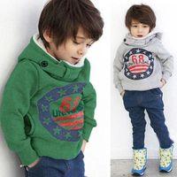 cotton sweater - 2015 Fashion Cartoon Boys Girls Padded Coat Tops Hoodies Jacket Parka Sweater Outwear Padded Hoodies Jacket T