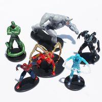 Multicolor venom - Spider man Figures Toy cm The avengers Spiderman Venom Action Figure Toy PVC Doll