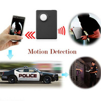 Wholesale New Fashion Miniature car detector MMS alarm infrared camera video recording back position Alarm systems security home