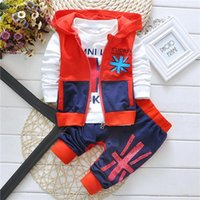 Cheap Wholesale Kids Clothes Set Baby Boy Clothing Set Baby boy clothing Kids CLothing Boy Clothes Casual Wear Free Shipping