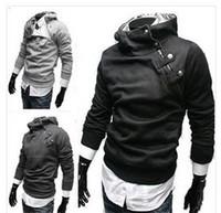 bamboo clothes - New Hot High Collar Men s Jackets Men s Sweatshirt Dust Coat Hoodies Clothes cotton jacket