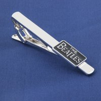 beatles ties - 2014 New Arrival Music Lover The Beatles Metal Tie Clips Men s Jewelry Tie Clips Accessories Statement Jewelry Movie Jewelry