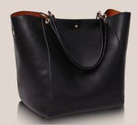 Wholesale 2016 Ladies fashion large size capacity Genuine leather Designer crossbody messenger shopping bag women s tote big shoulder bags handbags