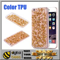Wholesale New Iphone s Case Galaxy S7 Edge Platinum Epoxy TPU Case For Grand Prime G5308 Galaxy S6 Soft TPU Gel back cover case