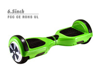 Wholesale self balancing two wheel inch scooter cc with anti crash rubber strips samsung battery
