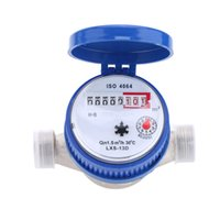 Wholesale Single Flow Dry Cold Water Table mm Garden amp Home Water Meter With Free Fittings