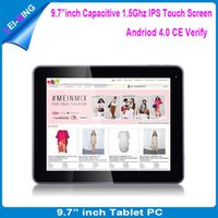 Wholesale Hot sell quot inch IPS RK3066 dual core dual camera MID external G with bluetooth capacitive tablet pc