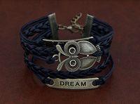 Bohemian arrival alloy owl - New arrival charm bracelets bracelets for women owl multilayer Valentine s day gifts Hand woven bracelet SZ5
