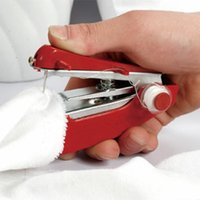 Wholesale new arrive small Portable Hand sewing machine practical mini handheld sewing device sewing tool