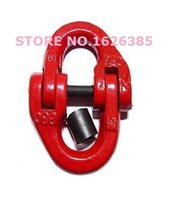 Wholesale 2T G80 connecting link die forging chain link hook link G80 link double ring link lifting link sling link