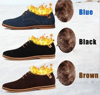 Wholesale New Fashion boots summer cool winter keep warm Men Leather Shoes with plush Men s Flats Shoes Low Men Sneakers for men Oxford Shoes