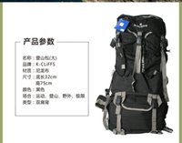 Wholesale L unisex Waterfroof Nylon Mountaineering Backpack For Camping Hiking Climing Mountain Bag Outdoor assault backpack