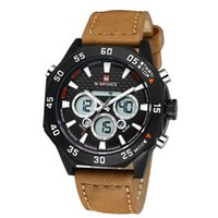 alarm box battery - NAVIFORCE Sports Watch Sturdy Water Resistant Dual Time Wristwatch for Men with Function of Date Week Alarm AND Watch box J0398 J0551