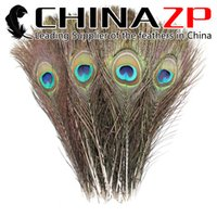 Wholesale Leading Supplier CHINAZP Crafts Factory cm inch Top Quality Full Eye Natural Peacock Feathers for Decorations