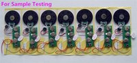 Wholesale For SAMPLE Testing Seconds s s s s s recordable sound module Toy module Sound chip Greeting Card Good price Top quality