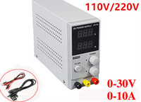 Wholesale Mini adjustable DC power supply V V regulated output voltage V output current A regulator EU US AU UK plug