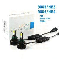 autos faw - AUTO Headlight Kits hb3 led V DC H7 headlight headlamp bulbs led headlight w lm cob headlamps h8 h9 h11 h10 hb4