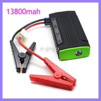 Wholesale 12v Auto Start Multi function Car Jump Starter mAh Power Bank for Smart Phone Laptop EU US UK AU Plug