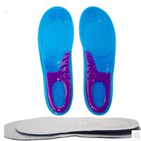 Wholesale Men Women Silicone Gel Orthotic Arch Support Massaging Sport Shoe Insole Run Pad