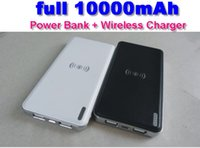 banking market - Huge market potential Qi Wireless charger power bank full mah car Wireless charger for iphone Samsung Nokia Nexus LG