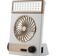 solar fan - Solar in rechargeble electric fan