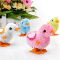 Wholesale Cute Clockwork Movement Chicken Kids Baby Walking Toys Learning Fun Toys New Wind up Toys
