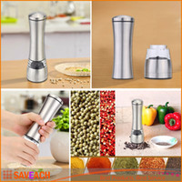 Wholesale Portable Manual Salt Spice Pepper Grinder Muller Mill Kitchen Seasoning Grinding Tool for Cooking Meat Restaurants