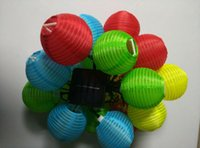 best solar lantern - LEDs Lantern Ball Solar Power LED Outdoor String Light for Party Wedding Festival Xmas Best Selling
