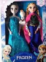 baby paper dolls - 2015 New Arrival Princess Frozen Queen Dolls Anna Elsa Paper Puzzle Game Jigsaw Educational Baby Toys