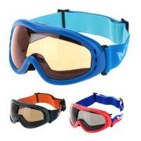 Wholesale Windproof Goggles Anti fog Professional Skiing Eyewear UV Protect Skiing Skating Goggles Winter Outdoor Sportswear Eyewear Y1652