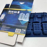 Wholesale Doctor Who Silicone Ice Cube Tray and Chocolate Mold Food safe silicone