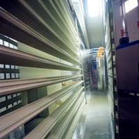 powder coated aluminum profile - Vertical powder coating line for aluminum profiles