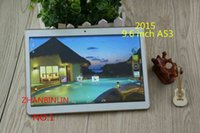 Wholesale 2016 NEW INCH Tablet Android Bit Processors Dual SIM Card G G G With Flash Million Pixels