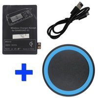 Wholesale Aqua Blue Qi Wireless Charger Charging Pad Receiver Kit for Samsung Galaxy S3 Cell Phone Products