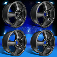 Wholesale 4PC Set fit for Chevrolet Silverado Tahoe offset quot x quot Car Alloy Wheels Rim Matte Black USA Stock