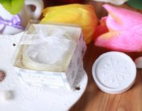 Wholesale In Stock Wedding favors scented Soap Cute snowflake Soap Decorative Baby Showers Soaps Party Gifts