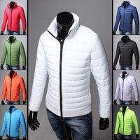 Wholesale winter wadded jacket male short down cotton padded jacket design outerwear plus size clothe Fashion Men Keep Warm Coat Parkas