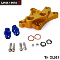 Wholesale Tansky High Quality OIL WEDGE BLOCK ADAPTOR FOR Nissan SX SR20DET CA18DET S13 TK OL05J