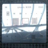 bga rework tools - IC Repair BGA Rework Reball Reballing Stencils Template for iPhone S Direct Heating Tools P3025 BGA Stencil