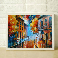 Wholesale 100 Hand Painted thick textured palette knife painting high quality modern canvas art home decoration JL