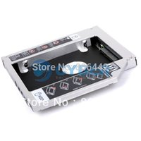Wholesale nd Hard Disk Driver HDD Caddy For mm Universal CD DVD ROM Optical Bay SATA To SATA