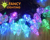 beads string curtain - M LED Beads Colorful starry LED string lights festival light V V holiday light for tree curtain home house wedding